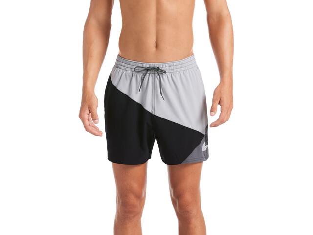 "Nike Swim Logo Jackknife 5"" Shorts Volley Hombre, gris/negro"